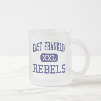 East Franklin - Rebels - Junior - Phil Campbell Frosted Glass Coffee Mug