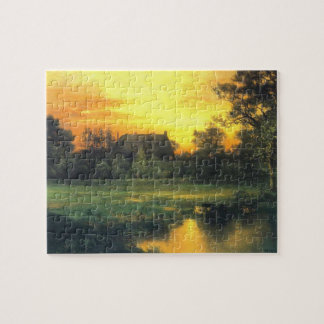 East Hampton, Long Island - Thomas Moran (1897) Jigsaw Puzzle