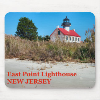 East Point Lighthouse, New Jersey Mousepad
