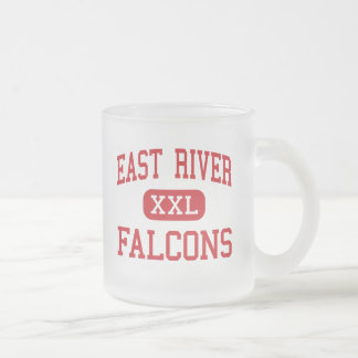 East River - Falcons - High - Orlando Florida Frosted Glass Coffee Mug