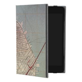 East San Francisco Topographic Map iPad Mini 4 Case