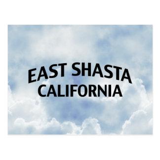 East Shasta California Post Card