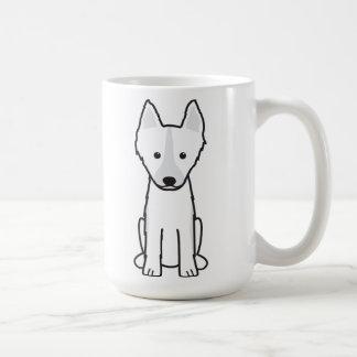 East Siberian Laika Dog Cartoon Coffee Mug