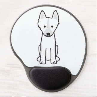 East Siberian Laika Dog Cartoon Gel Mouse Pad