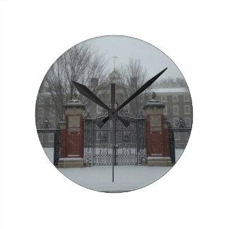 East Side Providence, Rhode Island Snow Clocks