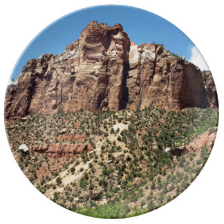 East Temple Zion National Park Utah Plate