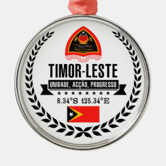 East Timor Christmas Ornament