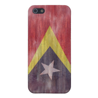 East Timor distressed flag iPhone 5 Case