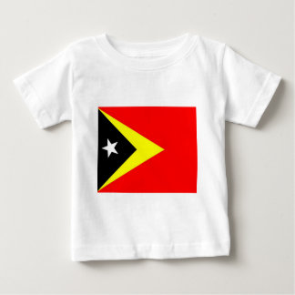 East Timor Flag Baby T-Shirt