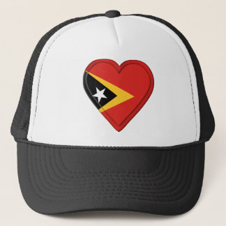 East Timor Flag Trucker Hat