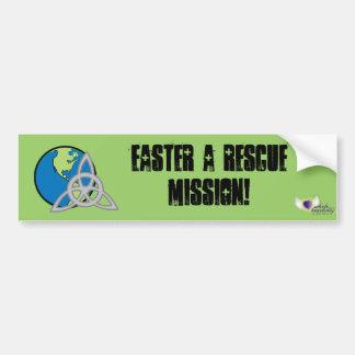 Easter A Rescue Mission-Customize Bumper Sticker
