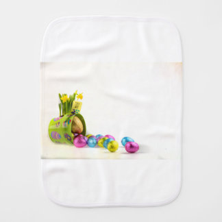 Easter Baby Burp Cloths