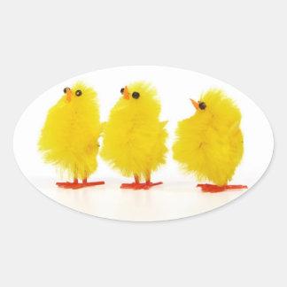 Easter baby chicks Sticker