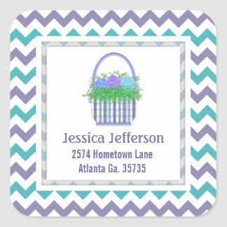 Easter Basket Address Stickers