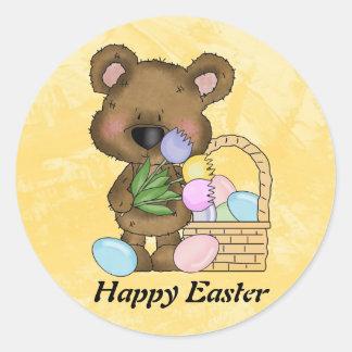 Easter Bear Sticker
