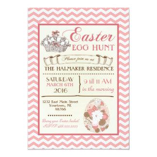 Easter Brunch Easter Egg Hunt birthday Invitation