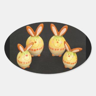 Easter Bunnies Sticker
