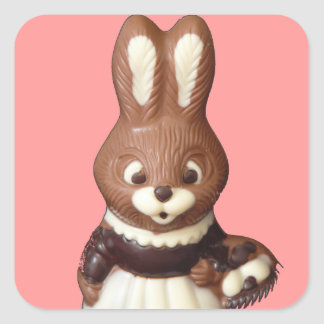 Easter Bunny 3D Sticker