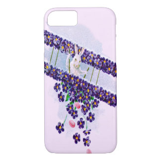 Easter Bunny Airplane Colored Egg iPhone 8/7 Case