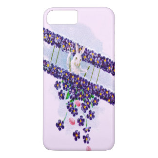 Easter Bunny Airplane Colored Egg iPhone 8 Plus/7 Plus Case