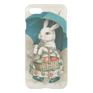 Easter Bunny Basket Colored Egg Umbrella iPhone 8/7 Case