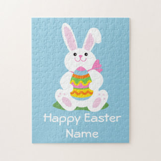 Easter Bunny | Basket Toy Jigsaw Puzzle