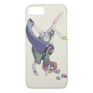 Easter Bunny Chick Basket Colored Eggs iPhone 8/7 Case