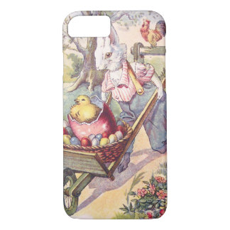 Easter Bunny Chick Colored Egg iPhone 8/7 Case