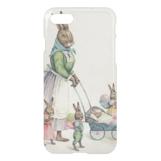Easter Bunny Children Colored Egg iPhone 8/7 Case