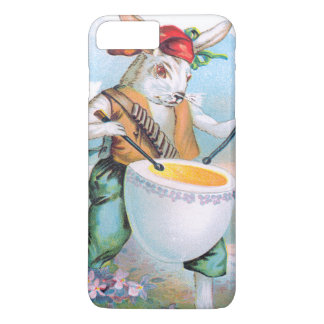 Easter Bunny Drummer Drum Egg iPhone 8 Plus/7 Plus Case