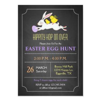Easter Bunny Easter Egg Hunt Invitation