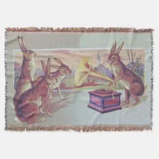Easter Bunny Gramophone Phonograph