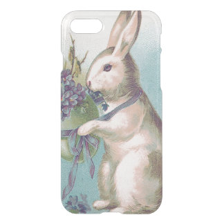 Easter Bunny Holding Colored Egg iPhone 8/7 Case