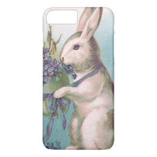 Easter Bunny Holding Colored Egg iPhone 8 Plus/7 Plus Case