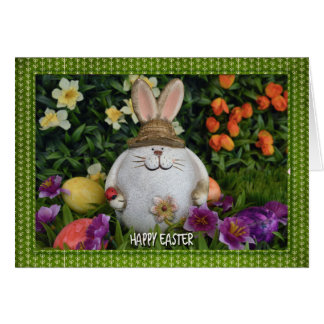 Easter - Bunny in the Grass Card