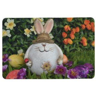 Easter - Bunny in the Grass Floor Mat