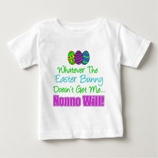 Easter Bunny Nonno Will Baby T-Shirt