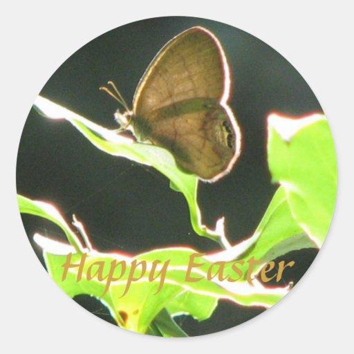 Easter Butterfly Sticker