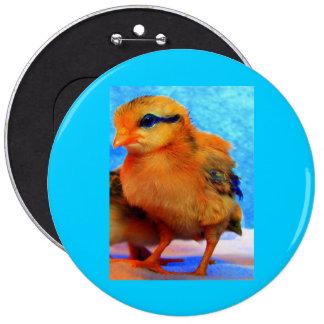 Easter Chick-A-Dee-Light Pinback Button