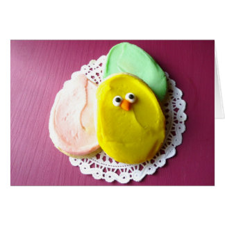 Easter cookies card