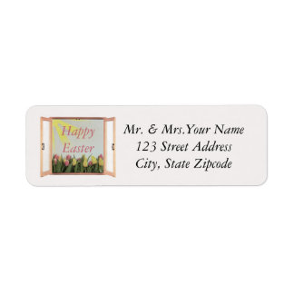 Easter Day Return Address Label