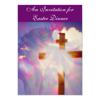 Easter Dinner Invitation - Religious