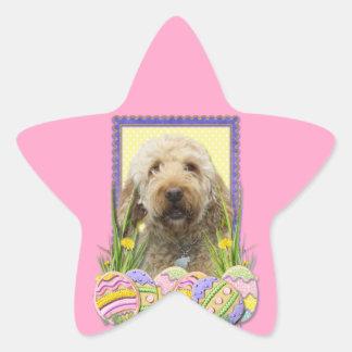 Easter Egg Cookies - GoldenDoodle Star Sticker