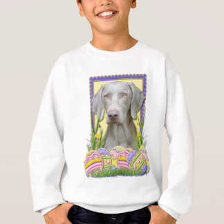 Easter Egg Cookies - Weimaraner Sweatshirt