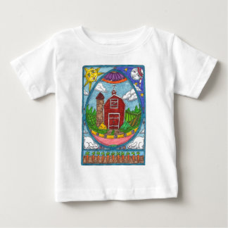 Easter Egg Farm Baby T-Shirt
