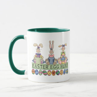 Easter Egg Hunt Friends Mug