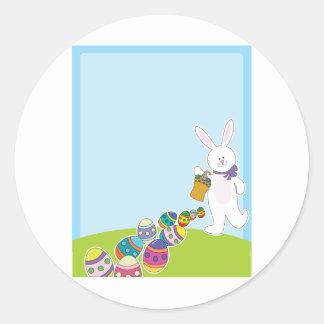Easter Egg Hunt Round Sticker