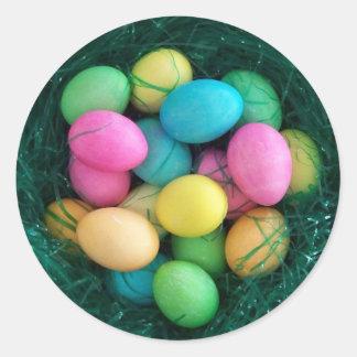 Easter Egg Nest Sticker