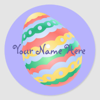 Easter Egg Stickers Classic Easter Egg Stickers