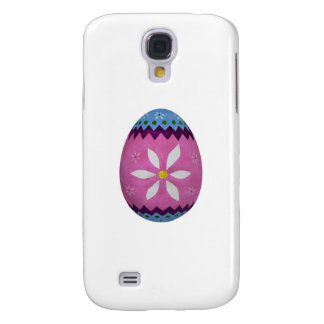 Easter Egg with Painted Flower Pattern Galaxy S4 Case
